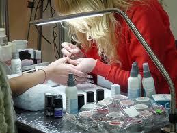 технология наращивания ногтей акрилом